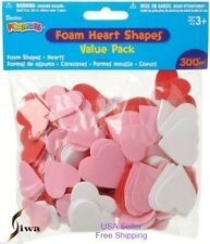 Foamies Hearts Shapes 300 Piece Value Pack