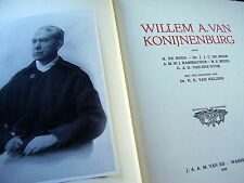 WILLEM A. VAN KONIJNENBURG~BIOGRAPHY~1928~EXLIBRIS by JEANNE BIERUMA OOSTING