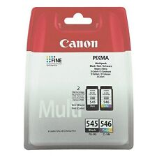 Canon PG-545 / CL-546 (Black/Colour - B/C/M/Y) Ink Cartridge (Yield 180 Pages)