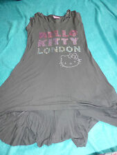 marks and spencer girls hello kitty long grey top age 13 - ideal with leggings