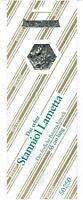 5 Pack. a 12 gr. Echtes Stanniol Lametta 55cm silber Stanniollametta Staniol