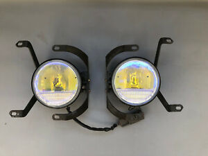 TRD Fog Lights OEM JDM for toyota / Altezza SXE10 TRD  W/ mounts Yellow Tint.