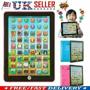 Educational Toys Baby Tablet Girls Toy For 1 2 Year Old Toddler Learning English