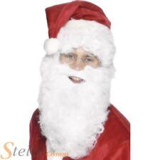 Papá Noel Santa Claus barba de Smiffys 28cm blanco