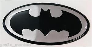 Scomadi Horncast Badge Black and Silver BATMAN design