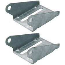 2 Pack 8 Inch Galvanized Heavy Duty Boat Trailer Spool or Keel Roller Bracket