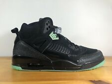 Jordan Spizike Black Green Glow Spike Lee Men's Size 13 GLOW IN DARK 315371 032
