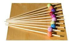 Chrystal flower bead wood skewer - 12cm x 500 - GOTO