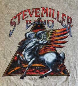 2015 Steve Miller Band Tour Shirt Large Gray