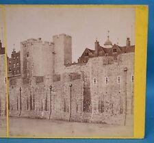 Scarce 1860s Stereoview Photo The Tower Of London 20 Beauchamp J Davis Burton