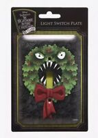 Disney The Nightmare Before Christmas Wreath Single Light Switch Plate Cover