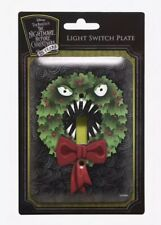 Disney The Nightmare Before Christmas Wreath Single Light Switch Plate Cover NIP
