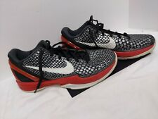 Nike Kobe 6 VI Bred NDS Black / White / Varsity Red Size 9.5 #429659-001