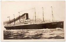 Real Photo Postcard President Grant Steamship at Sea Transportation~106158