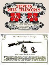 Stevens 1903 Gun Telescopes and Mountings Catalog