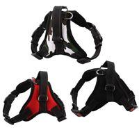 No Pull Dog Harness Vest Collar Adjustable Nylon Soft Walk Out Hand Strap S-XL
