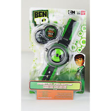 Genuine Bandai Ben Ten Omnitrix Projector Watch 10 for Disc Alien Force Kids Toy