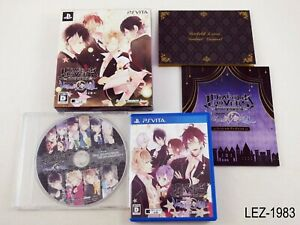 Diabolik Lovers Vandead Carnival Limited Edition PS Vita Japan Import US Seller
