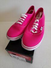 VANS Authentic Lo Pro Unisex Trainers Shoes Neon Pink UK6 EU39  #H1