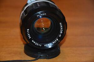 Nikon Japan Nikkor-N 35mm f/1.4 Manual Non-AI Camera Lens