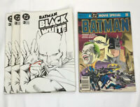 Mixed Lot Batman 3 Black and White 1996 1 Movie Special 1989