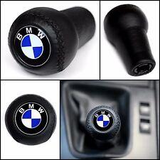 BMW CLASSIC GEAR STICK SHIFT KNOB E60 E90 E92 E91 E46 E39 M3 M5 M6 LEATHER NEW