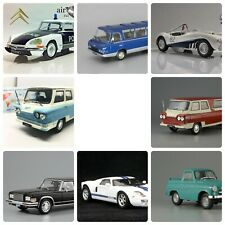 Set of 8 Cars 1/43 Scale Diecast Collectible Models