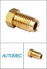 AUTOMEC Brake Pipe Brass Union Fittings Male 10mm x 1.25mm Pitch for 3/16 Pipe