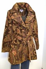 3 Sisters Jacket 1808 3S185 Sm & Lg COLORS Women's Dressy Belted Trench Coat USA