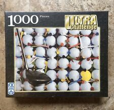 "FX Schmid Jigsaw Puzzle Golf Balls New ""Singled Out"" Club Tees 1000 Pc Challenge"