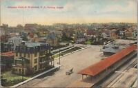 Postcard Birds Eye View of Wildwood NJ Looking South 1912