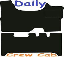 IVECO Daily Cabina Equipaggio Qualità Deluxe Tappetini su misura 2006 2007 2008 2009 2010 2011