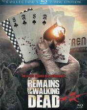 REMAINS OF THE WALKING DEAD - Blu Ray Disc - Limited Edition..x2 Discs..Uncut..