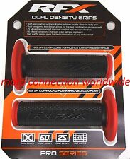 RFX PRO SERIES DUAL COMPOUND GRIPS BLACK / RED  HONDA CRF230L CRF250L