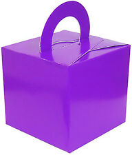 10 Favour Box / Balloon Weights Wedding Christening Birthday Party FREE UK POST