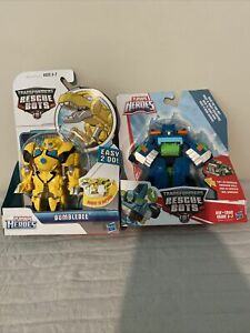 Transformers Rescue Bots Bumbleb ee & HOIST NEW IN THE PACKAGE