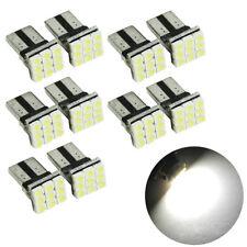 LOT 20 X T10 Wedge 9-SMD License Plate Tag Gauge Cluster Interior LED Light bulb