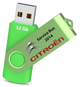 Citroen Service Box (manuals-wiring) su pendrive 32GB - Pc & Mac! FACILE!