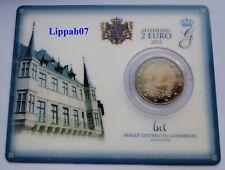 Luxemburg / Luxembourg speciale 2 euro 2012 Huwelijk / Hochzeit BU in Coincard