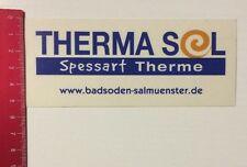 Aufkleber/Sticker: Therma Sol - Spessart Therme - Badsoden Salmünster (28031679)
