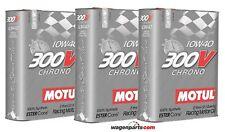 Aceite motor Motul 300v Chrono 10w40 6 litros (especial tuning Rally carreras)