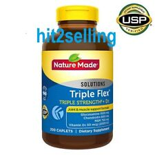 Nature Made TripleFlex + D3 200 or 400 Caplets Exp. 2022 Joint & Muscle Support