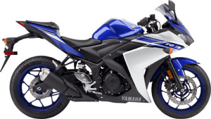YAMAHA YZF-R3 2015-2016 MOTORBIKE WORKSHOP SERVICE REPAIR MANUAL