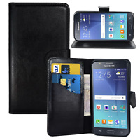 UK Leather wallet Magnetic Flip with card holder for Samsung Galaxy S Mobile