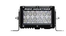 RIGID Industries - 17351 - E2 Series 60deg. Diffused Light Bar, 4in. - Clear