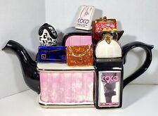 Tony Carter Teapot Handbag Purse Shop England 1978-1998 Celebration