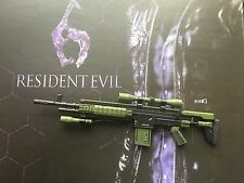 Hot Toys Resident Evil 6 Leon S Kennedy SASS Rifle loose 1/6th scale