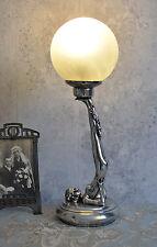 Vintage Lampe de table figuratif Lampe Danseuse Lampe Art Déco Années 20 Style