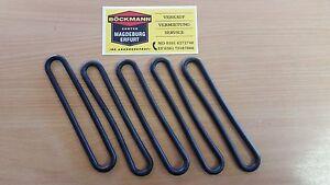 5x ORIGINAL Böckmann Gummi - Spannring Gummiring Stroppe 200mm Pferdeanhänger