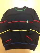 Vintage Jc de Castelbajac Italy Cartoon Captain Sweater Size 54